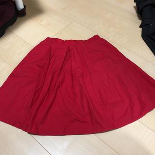 ローリーズファーム(LOWRYS FARM)のローリーズファーム 赤ミニスカート(ミニスカート)