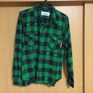インハビダント(inhabitant)の☆inhabitant グリーンチェックシャツ(シャツ)