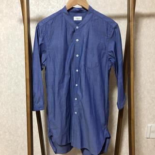 ジュンレッド(JUNRED)のJUNRED バンドカラーロングシャツ(シャツ)