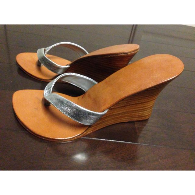 9cmヒールサンダル レディースの靴/シューズ(サンダル)の商品写真