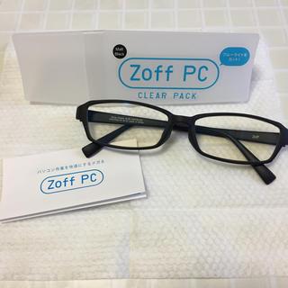 ゾフ(Zoff)のブルーライトカット眼鏡(サングラス/メガネ)