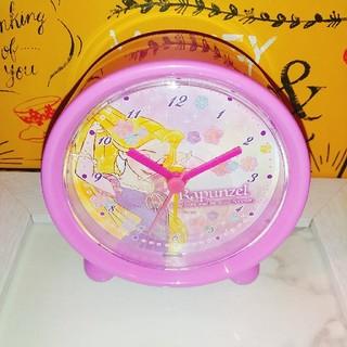 ディズニー(Disney)のラプンツェル アラーム時計(置時計)