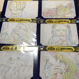 バンダイ(BANDAI)の一番くじ ワンピース メモリアル原画アート(キャラクターグッズ)