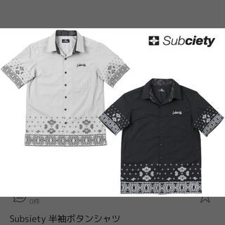 サブサエティ(Subciety)のSubciety ペイズリー シャツ ホワイト(シャツ)