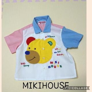 ミキハウス(mikihouse)のミキハウス シャツ 80 レトロ(シャツ/カットソー)