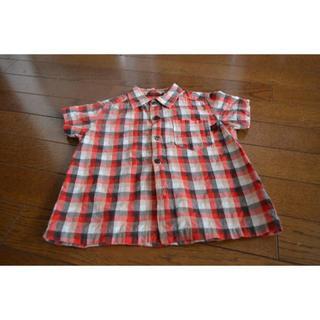 コシノジュンコ(JUNKO KOSHINO)の90㎝コシノジュンコ半袖ボタンシャツ (ブラウス)