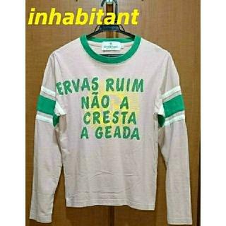 インハビダント(inhabitant)のinhabitant  インハビタント  ロングTシャツ  SUN  XXS(Tシャツ(半袖/袖なし))