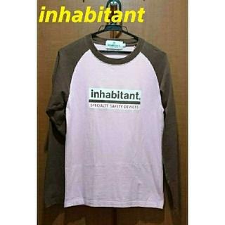 インハビダント(inhabitant)のinhabitant  インハビタント  ロングTシャツ  XS  長袖(Tシャツ(長袖/七分))
