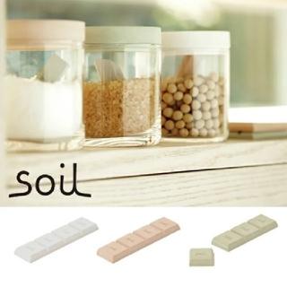 ソイル(SOIL)のsoilドライングブロック ※グリーン②(収納/キッチン雑貨)
