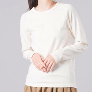 【新品タグ付】HAPTIC  OMNES クルーネック長袖Tシャツ(Tシャツ(長袖/七分))