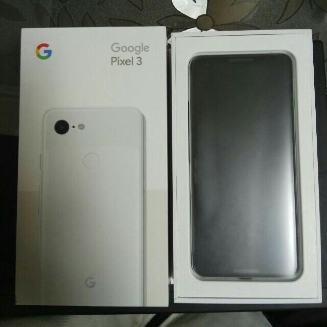 google Pixel3 5.5 64GB clwarly white スマホ/家電/カメラのスマートフォン/携帯電話(スマートフォン本体)の商品写真