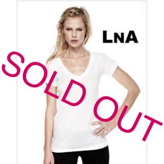 エルエヌエー(LnA)のLnA Vネック Tシャツ(Tシャツ(半袖/袖なし))