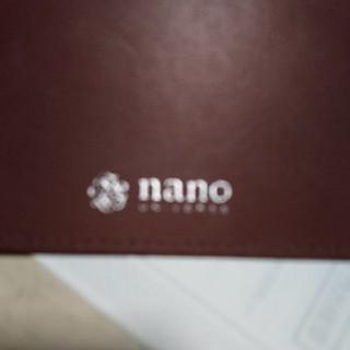ナノユニバース(nano・universe)のnanoカード式財布(長財布)