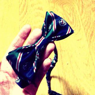 ジーナシス(JEANASIS)の蝶ネクタイ JEANASIS(つけ襟)