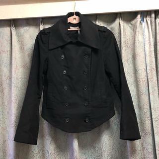 クーカイ(KOOKAI)のタグ付新品♡ kookai トレンチコート ジャケット ブラック 黒 春(トレンチコート)