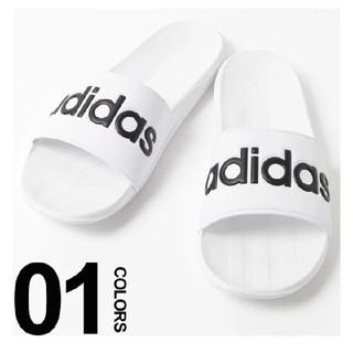 アディダス(adidas)の送料込み 新品 アディダス サンダル カロズーン 26.5センチ ホワイト 白(サンダル)