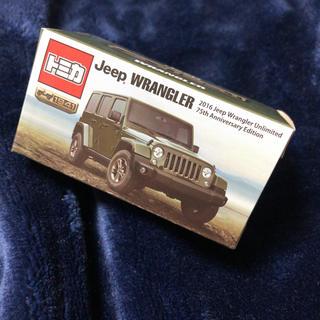 ジープ(Jeep)のトミカ ジープ ラングラー 非売品 jeep 1941 75周年記念(ミニカー)