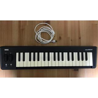 コルグ(KORG)のKORG micro key 37鍵 usb接続(MIDIコントローラー)