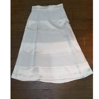 コシノジュンコ(JUNKO KOSHINO)のJUNKO SHIMADA スカート シルク 未使用(ロングスカート)