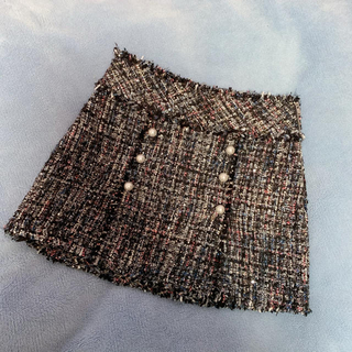 ザラ(ZARA)のZARA ツイードスカート(ミニスカート)