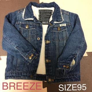 ブリーズ(BREEZE)の美品♡BREEZE ボアデニムジャケット ボアGジャン(ジャケット/上着)