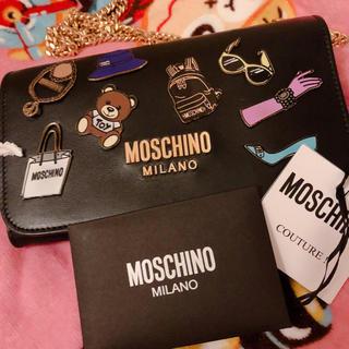 モスキーノ(MOSCHINO)のモスキーノ  ほぼ新品 チェーンウォレット(財布)