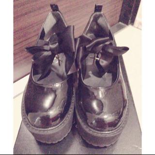 アンクルージュ(Ank Rouge)のAnk Roug厚底 靴(ローファー/革靴)