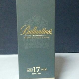 バランタインカシミヤ(BALLANTYNE CASHMERE)のバランタイン17年 正規化粧箱入り並行輸入品(ウイスキー)
