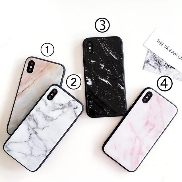 大理石 天然石 シンプル アイフォン iPhoneCA113123の通販 by PONYshop|ラクマ