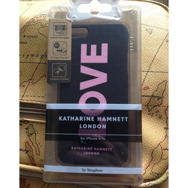 KATHARINE HAMNETT - 新品 iPhone5/5Sケース KATHARINE HAMNETT PEACEの通販 by sei-c's shop|キャサリンハムネットならラクマ