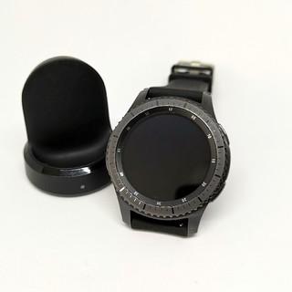 サムスン(SAMSUNG)のGear S3 frontier スマートウォッチ(腕時計(デジタル))