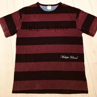 ネクサスセブン(NEXUSVII)のnexus7 パイル地 Tシャツ 美品 L(Tシャツ/カットソー(半袖/袖なし))