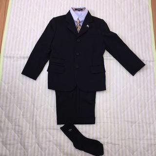 バーバリー(BURBERRY)の卒園 入学に🎶😊 バーバリー男児スーツ フルセット 120(ドレス/フォーマル)