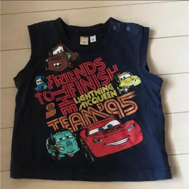 Disney(ディズニー)の80 カーズ ノースリーブ キッズ/ベビー/マタニティのベビー服(~85cm)(タンクトップ/キャミソール)の商品写真