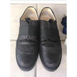 サンシー(SUNSEA)のSUNSEA Oild Laceless Wingtip Shoes(ドレス/ビジネス)