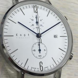 ノットノット(Knot/not)のKnot クロノグラフ CC-39 美品(腕時計(アナログ))