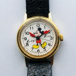アルバ(ALBA)のALBAクオーツ ミッキーマウス ジャンク(腕時計)