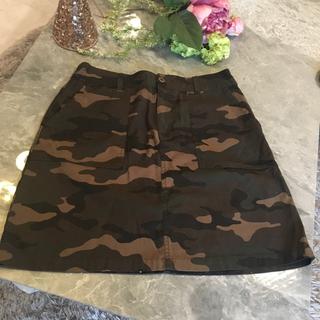 ローリーズファーム(LOWRYS FARM)のローリーズファーム迷彩柄スカート(ミニスカート)