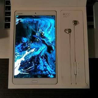 アンドロイド(ANDROID)のHUAWEI M3 LTE SIMフリープレミアモデル 2K解像度(タブレット)