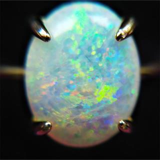 天然 オパール リング 1.329ct 簡易ソーティング付(リング(指輪))