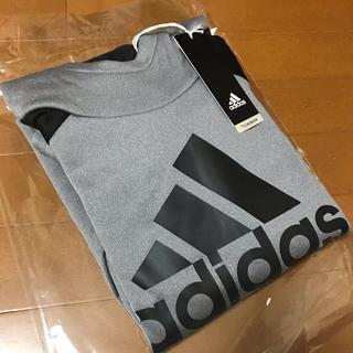 アディダス(adidas)のアディダス パーカー グレー ジュニア 140 値下げ(Tシャツ/カットソー)