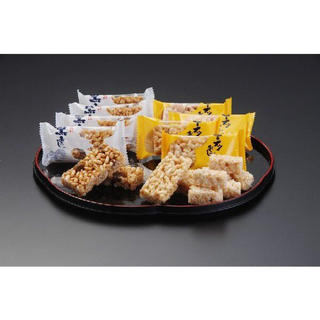 お菓子 森長 詰合おこし(黒おこし48枚・ピーナッツおこし300g)(菓子/デザート)