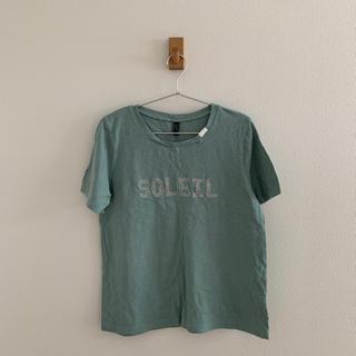 グリーン Tシャツ(Tシャツ(半袖/袖なし))