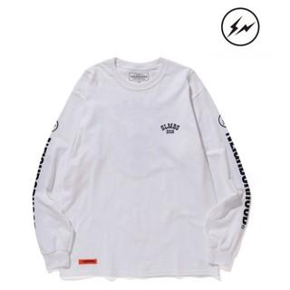 フラグメント(FRAGMENT)のNEIGHBORHOOD × FRAGMENT ロンT white Lサイズ(Tシャツ/カットソー(七分/長袖))
