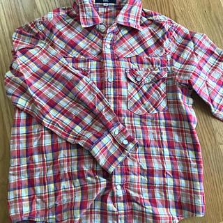 シップス(SHIPS)のお値下げ SHIPS ネルシャツ 130(ブラウス)
