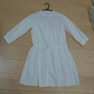 ムジルシリョウヒン(MUJI (無印良品))の無印良品 白シャツ レディース(シャツ/ブラウス(長袖/七分))