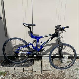 ジーティーバイシクルズ(GT Bicycles)のGT i-drive3.0 MTB ブルー 自転車 26インチ ワンオーナー(自転車本体)