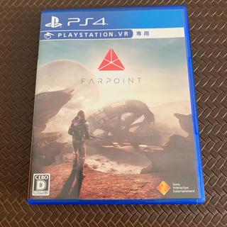 プレイステーションヴィーアール(PlayStation VR)の「Farpoint」PS4 VR専用 中古(家庭用ゲームソフト)
