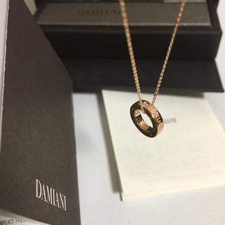 ダミアーニ(Damiani)のDAMIANI(ダミアーニ) ネックレス美品 Dサイド(ネックレス)