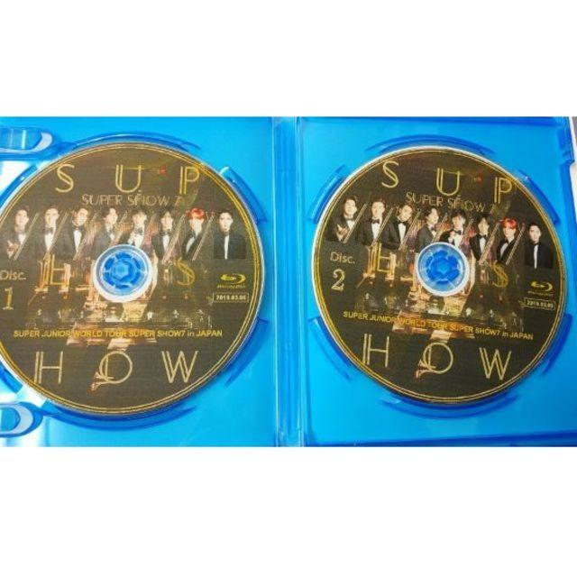 SUPER SHOW7 in JAPAN Blu-ray
